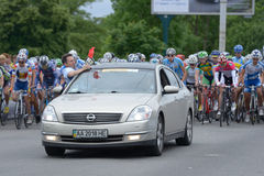 Bicycle Race Horizon Park 2013 in Kiev Royalty Free Stock Images