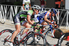 Bicycle Race 4 Royalty Free Stock Photos