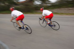 Bicycle racer Royalty Free Stock Image