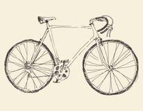 Bicycle, Racing Bike, Hand Drawn, Sketch Stock Photography