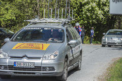 Bicycle racing, road - race (service car) Stock Photo