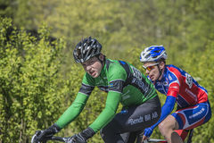 Bicycle racing, road - race Royalty Free Stock Photo