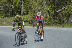 Bicycle racing, road - race Stock Photography