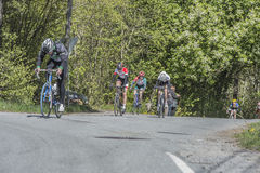 Bicycle racing, road - race Royalty Free Stock Images