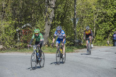 Bicycle racing, road - race Stock Image