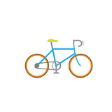 Bicycle racing vector retro Royalty Free Stock Photography