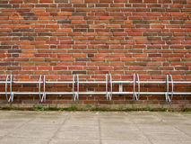 Bicycle rack Stock Photo