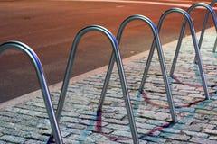 Bicycle Racks Stock Photos
