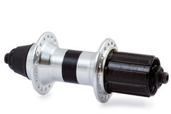 Bicycle rear hub Stock Images