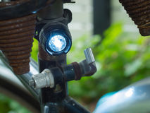Bicycle rear lamp lighting Stock Images