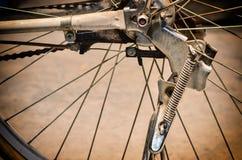 Bicycle rear wheel Royalty Free Stock Photo
