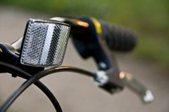 Bicycle reflector  Royalty Free Stock Photo
