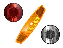 Bicycle Reflectors Royalty Free Stock Photos
