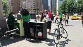 Bicycle rental stock video