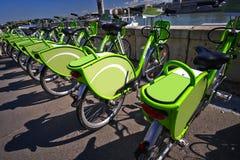 Bicycle Rental Royalty Free Stock Image