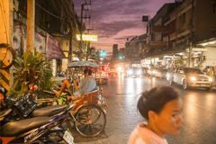THAILAND ISAN KHORAT CITY CENTRE Royalty Free Stock Image