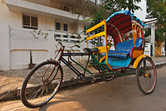 Bicycle rickshaw Royalty Free Stock Photo