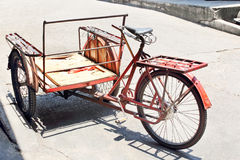 Bicycle rickshaws Stock Images