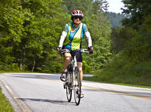 Bicycle Ride Across Georgia royalty free stock image