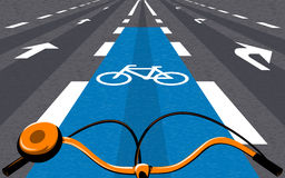 Bicycle ride Royalty Free Stock Photo