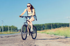 Bicycle ride Royalty Free Stock Images