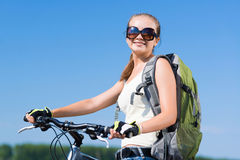 Bicycle ride Stock Images