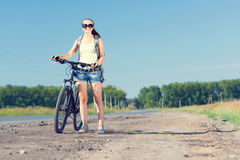 Bicycle ride Royalty Free Stock Photography
