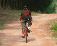 Bicycle Rider Stock Photography
