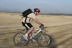 Bicycle Rider#3 stock photos