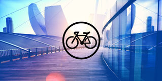 Bicycle Riding Bike Transportation Icon Concept Royalty Free Stock Photo