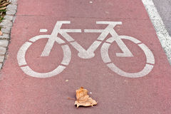 Bicycle Road Stock Image