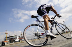 BICYCLE ROAD RACE. The 46th edition of the Presidential Tour of Turkey started on a high note in Istanbul. For the first time, the race had an inaugural time royalty free stock photography