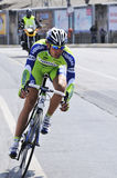 BICYCLE ROAD RACE Stock Image