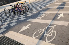 Bicycle road sign. Stock Photography
