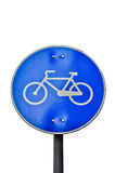 Bicycle road signal Stock Photos