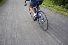 Bicycle route stock photography