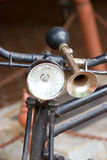 Bicycle's Horn. Royalty Free Stock Images