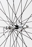 Bicycle's wheel. Royalty Free Stock Photography