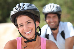 Bicycle Safety Stock Photography