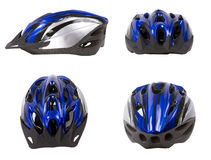 Bicycle safety helmet isolated. Royalty Free Stock Image