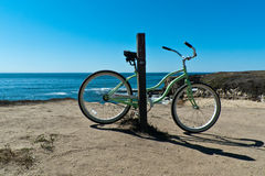 Bicycle, santa cruz coast Royalty Free Stock Photos