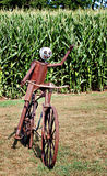 Bicycle Sculpture Royalty Free Stock Photos