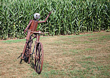 Bicycle Sculpture Stock Images
