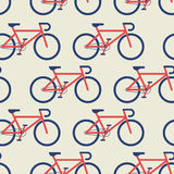 Bicycle seamless background Stock Photo