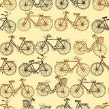 Bicycle seamless Royalty Free Stock Photography