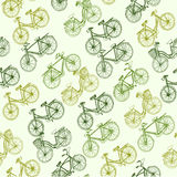 Bicycle seamless Royalty Free Stock Photos