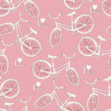 Bicycle seamless pattern Royalty Free Stock Images