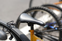 Bicycle seat Royalty Free Stock Photography