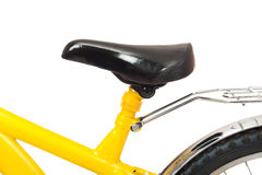Bicycle seat isolated Stock Photo