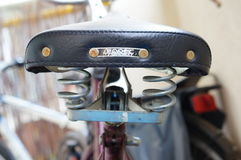 Bicycle seat Royalty Free Stock Photo